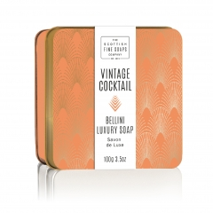 Seife VINTAGE COCKTAIL Bellini von Scottish Soaps