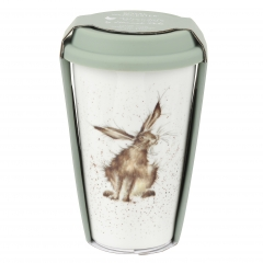 To Go Becher Reise Wrendale Designs - Hare brained HASE