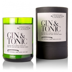 Duftkerze GIN AND TONIC Vineyard Candles Cornwall