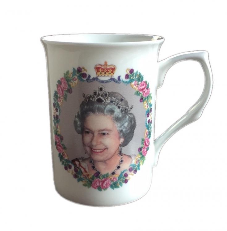 Tasse  The Queen 90 Birthday Edition ~ Geschirr Queens