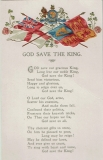 antike Postkarte - King Edward VII God save the King 1902