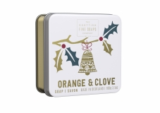 Seife Christmas Orange & Clove (Orange Nelken) von Scottish Soaps