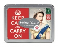 Karten VINTAGE LONDON Petite Notes Glitter in Metallbox