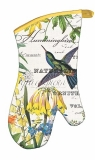 Ofenhandschuh Hummingbird Kolibri Michel Design Works