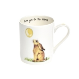 Tasse Country Life - Hase Love you to the moon