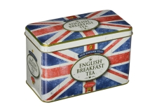 Teebeutel Breakfast Tea Geschenkbox Union Jack