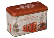 Teebeutel Breakfast Tea Geschenkbox Vintage England