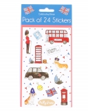 Stickers Celebrating Britain 24 Stück von Milly Green