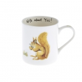 Tasse Country Life - Eichhörnchen Nuts about you