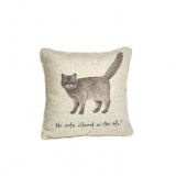 Kissen Country Life Katze Cat on Sofa