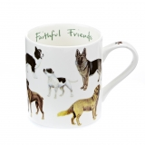 Tasse Country Life - Hunde Faithful Doggies