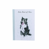 Notizheft A6 BORDER COLLIE von Wrendale Designs aus England