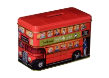 Teebeutel Afternoon Tea Spardose  London Bus REDUZIERT