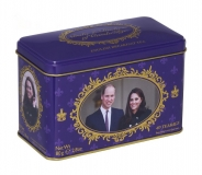 Teebeutel Breakfast Tea Geschenkbox Kate & William Cambridge
