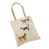 Tasche Country Life Three Moggies ( Katzen )