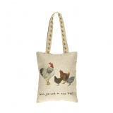 Tasche Country Life Girls just want to have fun ( Hühner )