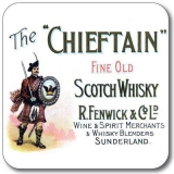Untersetzer Whisky The Chieftain