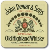 Untersetzer Whisky John Dewar Old Highland Whisky
